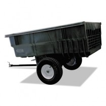 Rubbermaid 5663-61 Tractor Cart 15 CU FT - Black