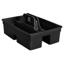 Rubbermaid 1880994 Executive Carry Caddy, 2-Compartment - Black