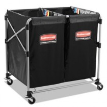Rubbermaid 1881781 Collapsible X-Cart, Steel 2-4 Bushel Cart