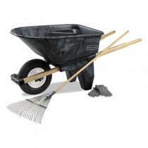 Rubbermaid 5658-61 Wheelbarrow 6.5 CU FT 200 lb Capacity