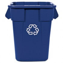 Rubbermaid 3536-73 Brute Recycling Container 40 gal - Blue