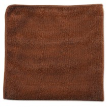 Rubbermaid 1863890 Microfiber Cloths 12x12, 24 cloths - Brown
