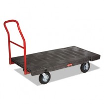 "Rubbermaid 4466-10 Platform 30"" x 60"" 1000-lb Capacity - Pneumatic Casters"
