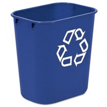 Rubbermaid 2955-73 Deskside Recycling Container 13 Quart
