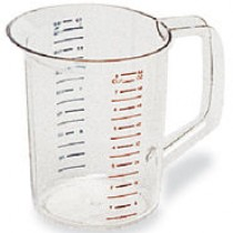 Rubbermaid 3217 Bouncer Measuring Cup, 2qt - Clear