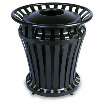 WeatherGard® Series Container with 32 U.S. gallon BRUTE® Container with Rigid Liner