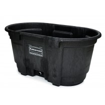 Rubbermaid 4242-88 Structural Foam Livestock Tank, 100 gallon
