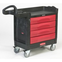 Rubbermaid 4513-88 TradeMaster Cart with 4 Drawers