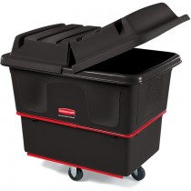Rubbermaid 4708 Utility Truck 8 CU FT 700-lb Capacity - Black