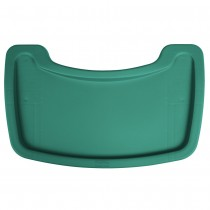 Rubbermaid 7815-88 Tray for 7805-08, 7806-08 and 7814-08 Chairs - Green