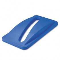 Rubbermaid 2703-88 Slim Jim Paper Recycling Top for 3540 and 3541 - Blue