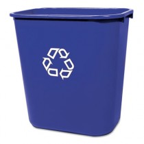 Rubbermaid 2956-73 Deskside Recycling Container 28 Quart