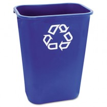 Rubbermaid 2957-73 Deskside Recycle Container 41 Quart