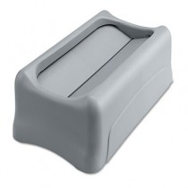 Rubbermaid 2673-60 Slim Jim Lid for 3540 and 3541 - Gray