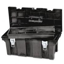 "Rubbermaid 7802 Industrial 26"" Tool Box - Black"
