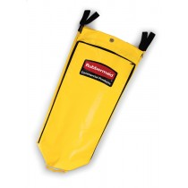 Rubbermaid 1966881 Janitor Cart Replacement Bag, 26 gallon - Yellow