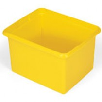 Rubbermaid 9T84 Janitor Cart-30 Quart Organizing Bin - Yellow