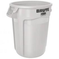 Rubbermaid 2655 Brute Container Round 55 gallon 3/Case - White