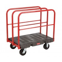 "Rubbermaid 4462 Platform Truck-Heavy-Duty-A Frame Panel Truck (24"" x 36"")"