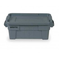 Rubbermaid 9S30 BRUTE Tote with Lid 14 Gallon - Gray
