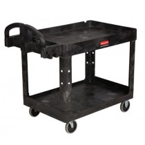Rubbermaid 4520-88 Heavy-Duty Utility Cart - Black