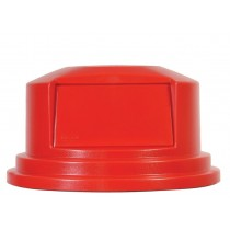 Rubbermaid 2657-88 Brute Dome Top Lid for 2655 55 gal Containers - Red