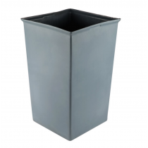 Rubbermaid 3567 Square Rigid Liner 35 1/2 Gallon - Gray