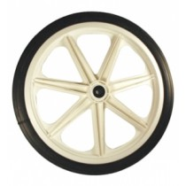 Rubbermaid M1565400 Wheel for 5654-61 cart