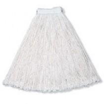 Rubbermaid V418 Economy Wet Mop Heads 24 oz 12/Case - White