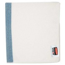 "Rubbermaid 1805728 HYGEN 16""x19"" Sanitizer Safe Food Service Microfiber Cloth, 24 Cloths - Blue"