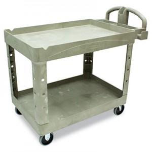 Rubbermaid 4520-88 Heavy-Duty Utility Cart - Beige