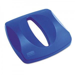 Rubbermaid 2690 Paper Recycling Top 3569-73 - Blue