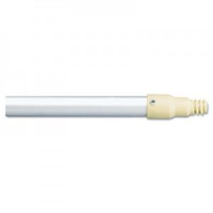 """Rubbermaid 6355 Aluminum Threaded Plastic-Tip Broom/Sweep Handle, 57"""""""