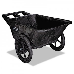 Rubbermaid 5642 Big Wheel Cart 7.5 CU FT, 300 lb Capacity