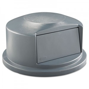 Rubbermaid 2647-88 Brute Dome Top for 44 Gallon for 2643 - Gray