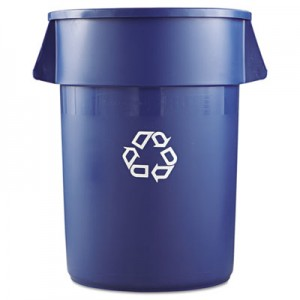 Rubbermaid 2643-73 Brute Recycling Container 44 gallon - Blue