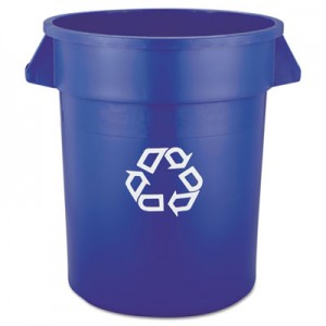 Rubbermaid 2620-73 BRUTE Recycling Container 20 Gallon - Blue