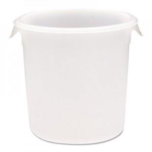 Rubbermaid 5724 Round Storage Container, 8qt - White
