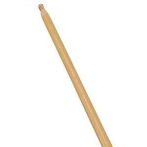"""Rubbermaid 6351 Wood Threaded-Tip Broom/Sweep Handle, 54"""" CASE of 12"""