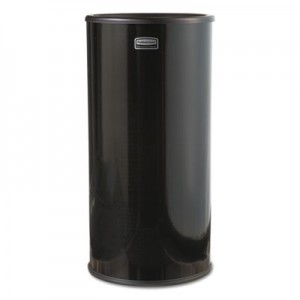 Rubbermaid 1000E Smokers' Urn - Black