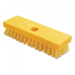 Rubbermaid 9B36 Deck Brush, Case of 6 - Yellow