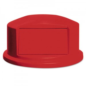 Rubbermaid 2647-88 Brute Dome Top Lid 44 Gallon for 2643 - Red