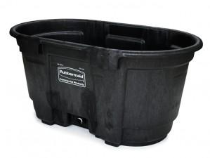 Rubbermaid 4242-88 Structural Foam Livestock Tank, 100 gallon