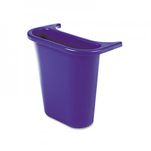 Rubbermaid 2950-73 Saddle Basket Recycling Bin - Blue