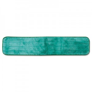 "Dry Hall Dusting Pad, Microfiber, 24"" Long, Q424GRE 12/Case - Green"