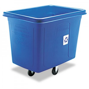 Rubbermaid 4616-73 Recycling Cube Truck 16 CU FT