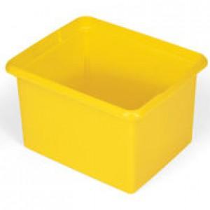 Rubbermaid 9T84 Janitor Cart-30 Quart Organizing Bin - Yellow
